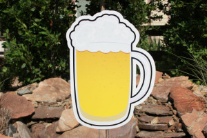 Beer Mug Parker Yard Greetings
