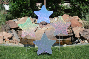 Sparkling Stars Parker Yard Greetings
