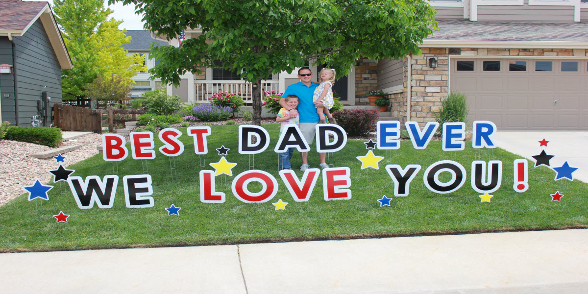 Fathers Day 2015 Parker Yard Greetings