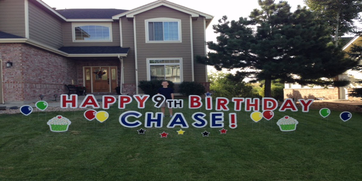 Happy 9th Birthday Chase Parker CO 2015